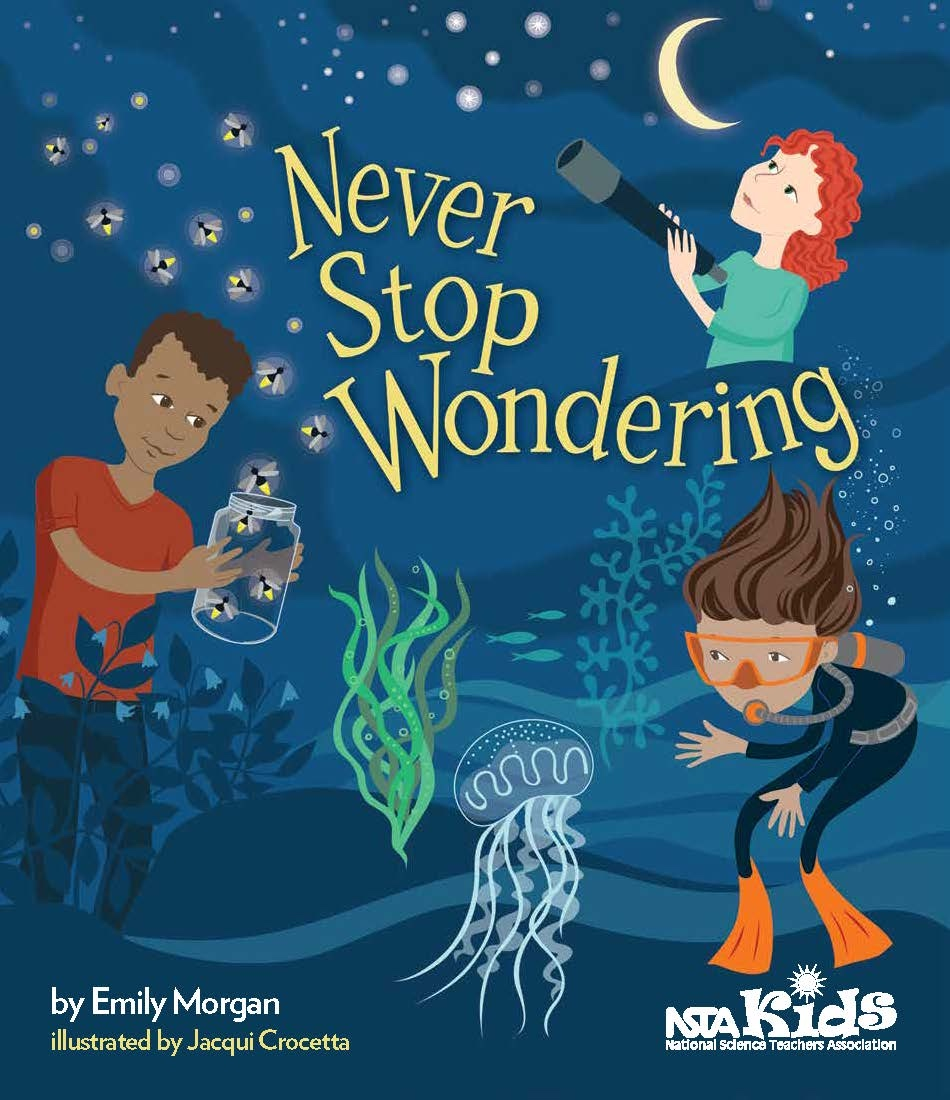 Never Stop Wondering Book